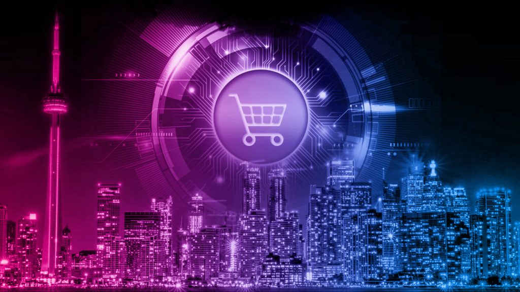 Online shopping with cryptocurrency
