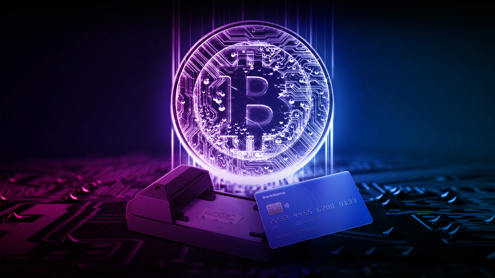 From card to crypto