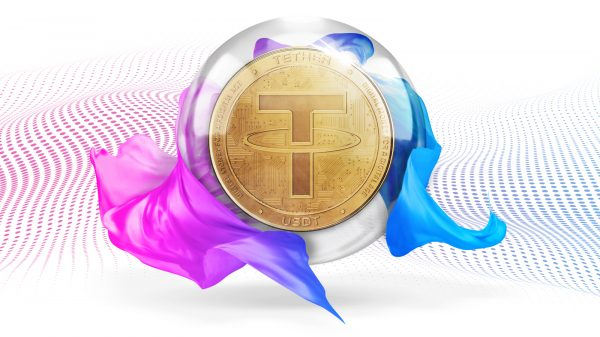 Tether is coming up